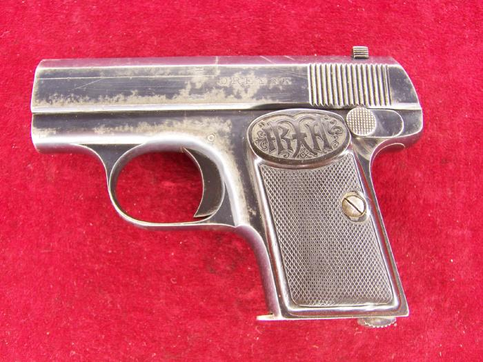 Dreyse 6.35mm Vest Pocket Pistol Type II