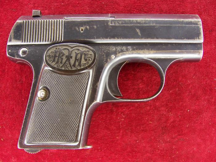 Dreyse 6.35mm Vest Pocket Pistol Type II