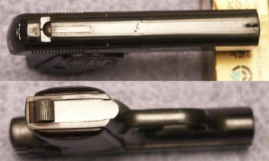 Жилетный пистолет Дрейзе калибра 6,35 мм