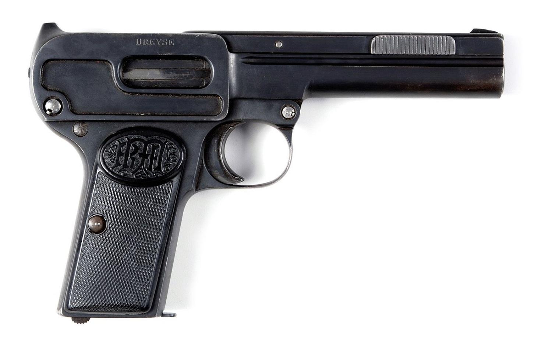 Прототип пистолета Dreyse 9 мм