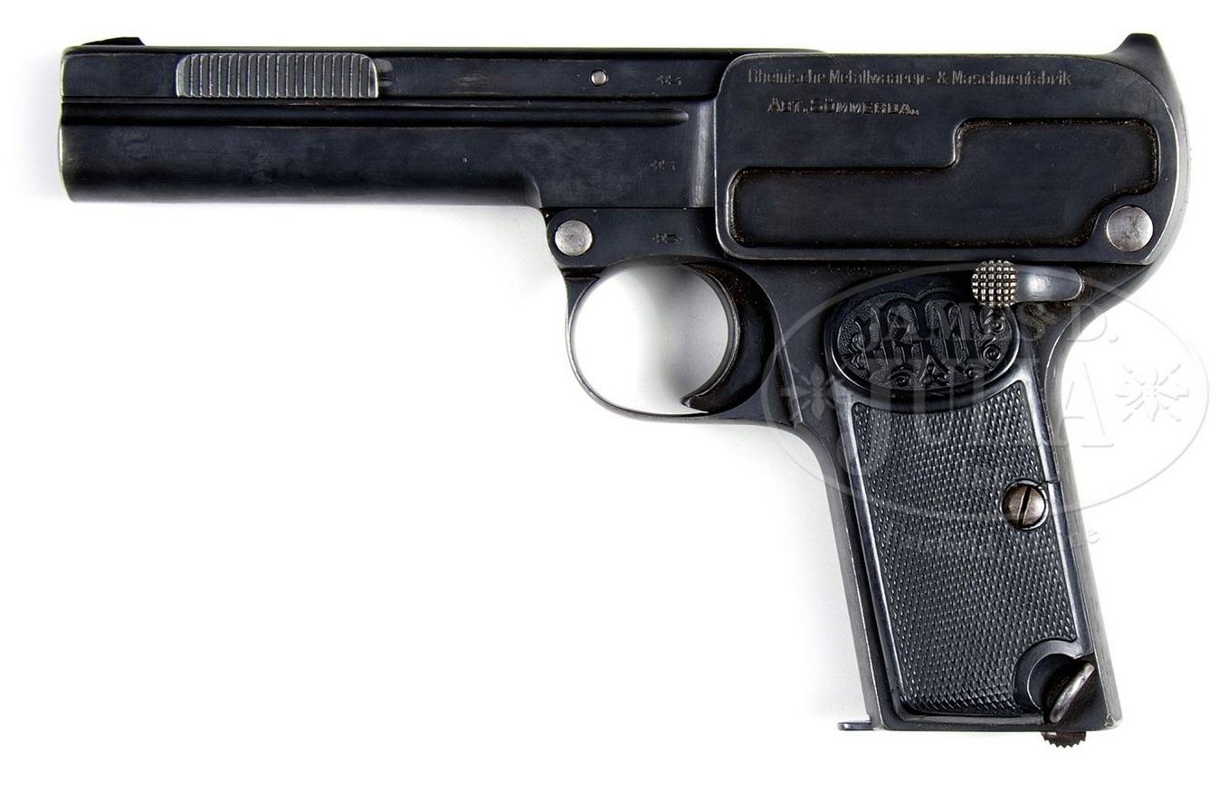 Prototip Dreyse 9mm Pistol