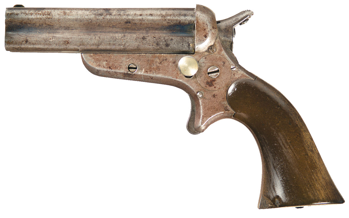 Sharps Model 3A Four Barrel Pepperbox Pistol
