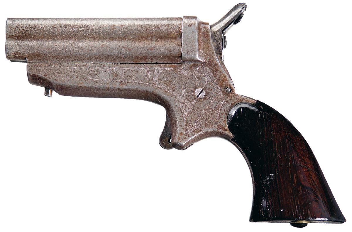 Sharps Model 1D Four Barrel Pepperbox Pistol
