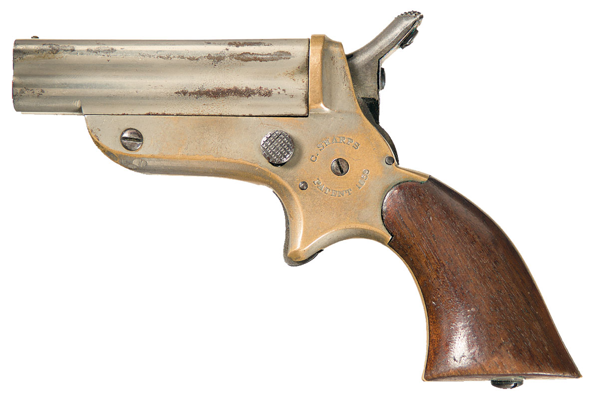 Sharps Model 1B Four Barrel Pepperbox Pistol