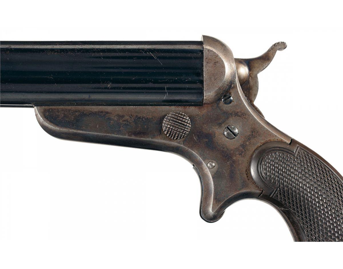 Sharps Model 3D Four Barrel Pepperbox Pistol
