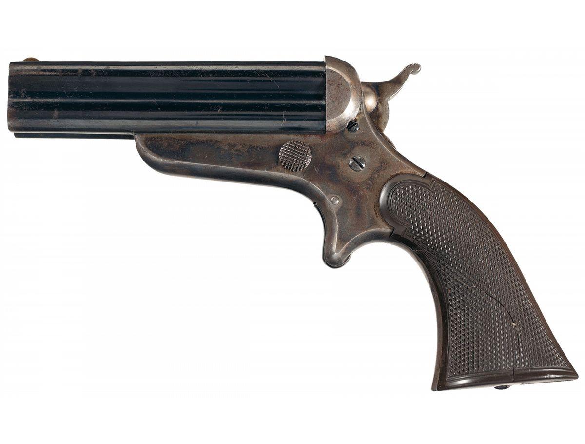 Sharps Model 3C Four Barrel Pepperbox Pistol