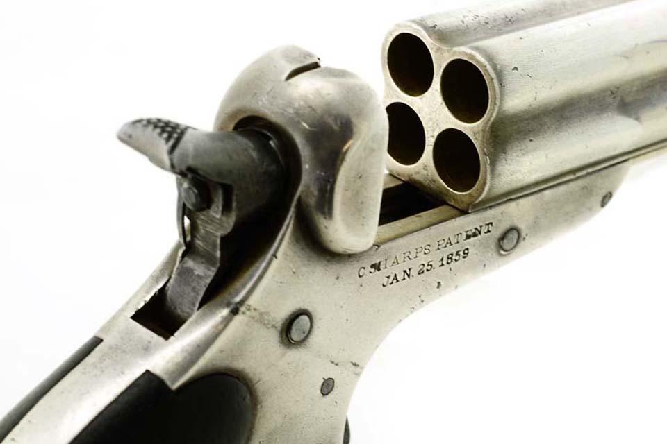 Sharps Model 4C Four Barrel Pepperbox Pistol
