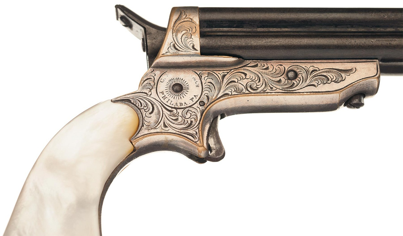 Sharps Model 2B Four Barrel Pepperbox Pistol