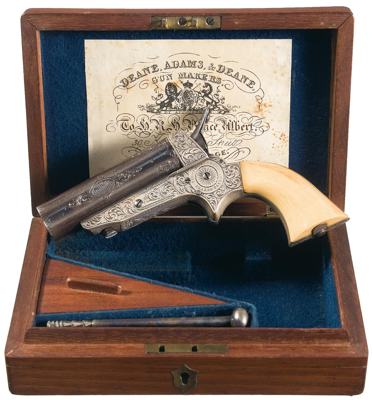 English Tipping & Lawden Sharps Pistol