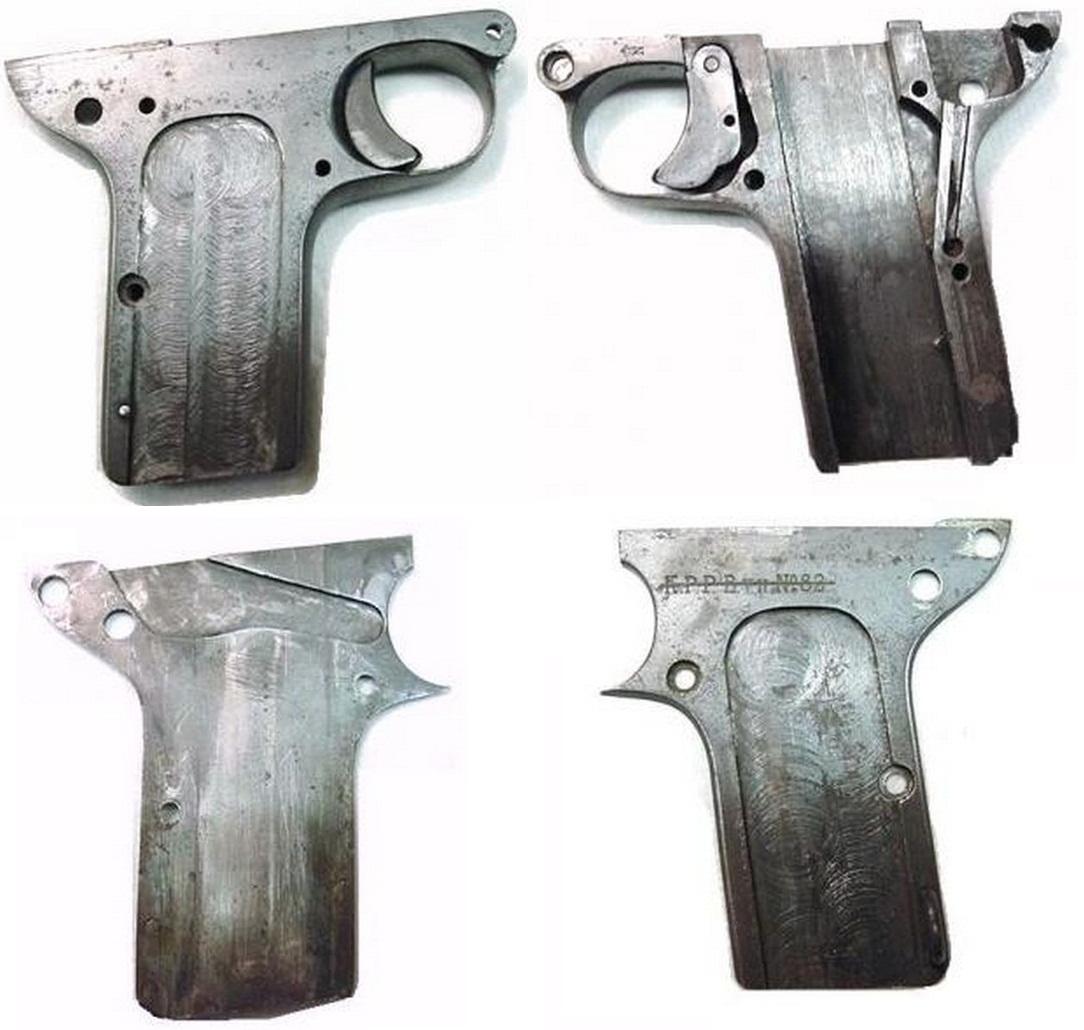 Пистолет Дрейзе образца 1907 года первой разновидности - Полицейская модель