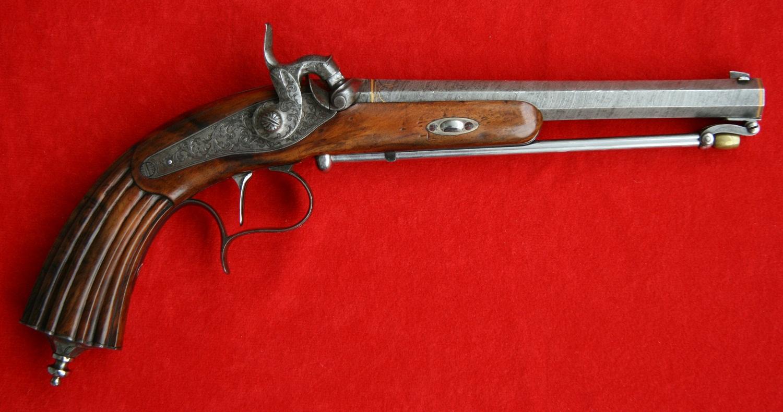 Немецкий капсюльный пистолет