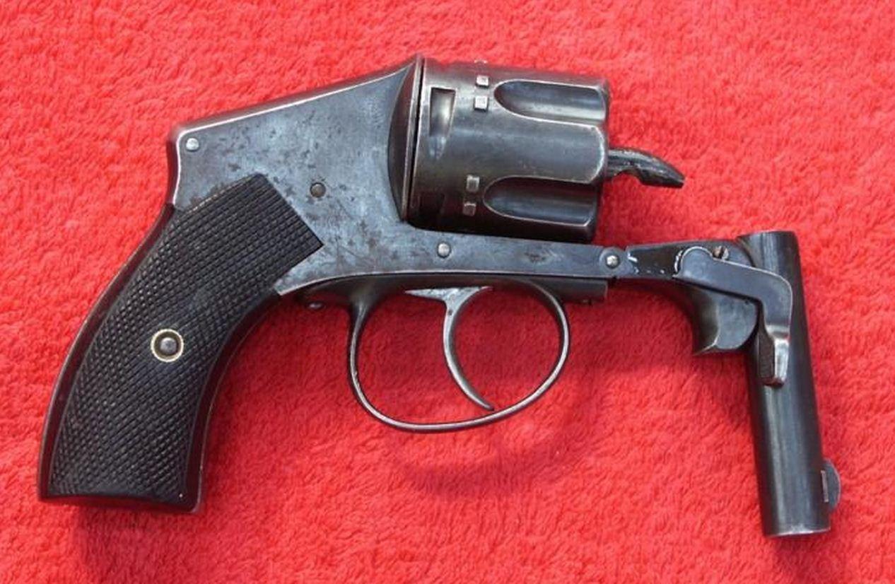 Belgian Galand Tue Tue Revolver