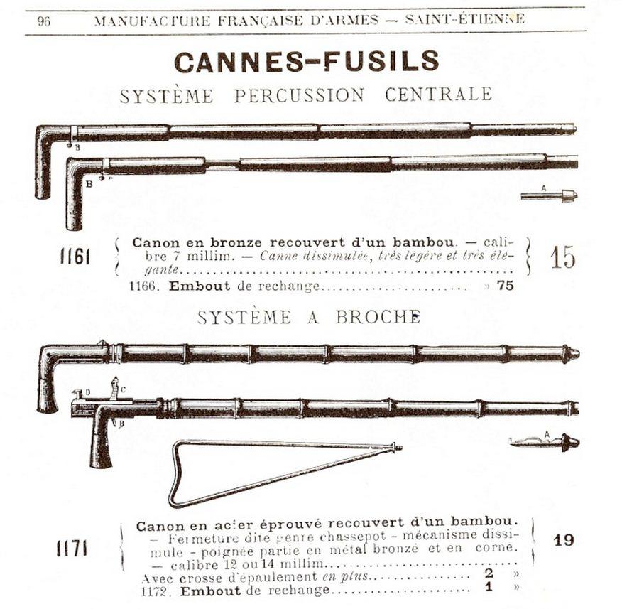 Реклама стреляющих тростей