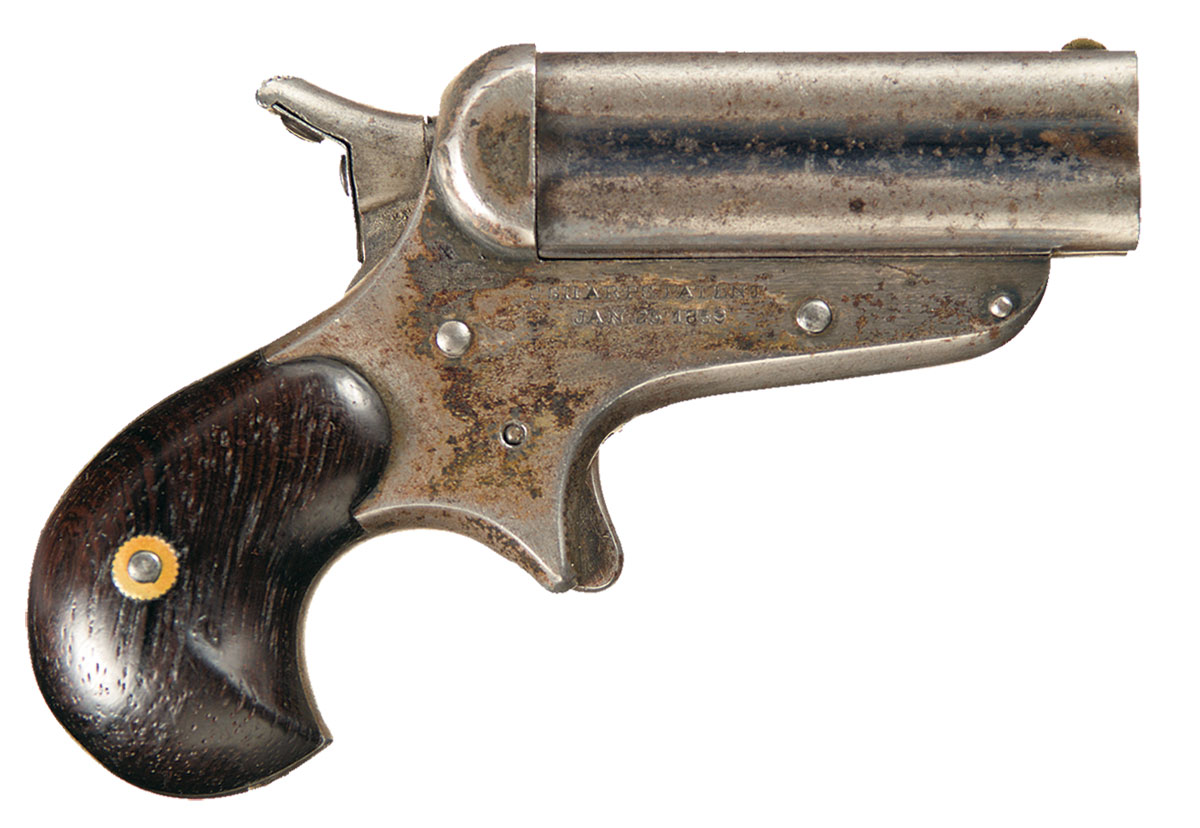 Sharps Four Barrel Pepperbox Pistol