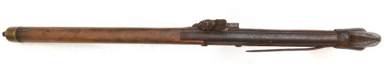 Абордажный топор-пистолет с кремневым замком