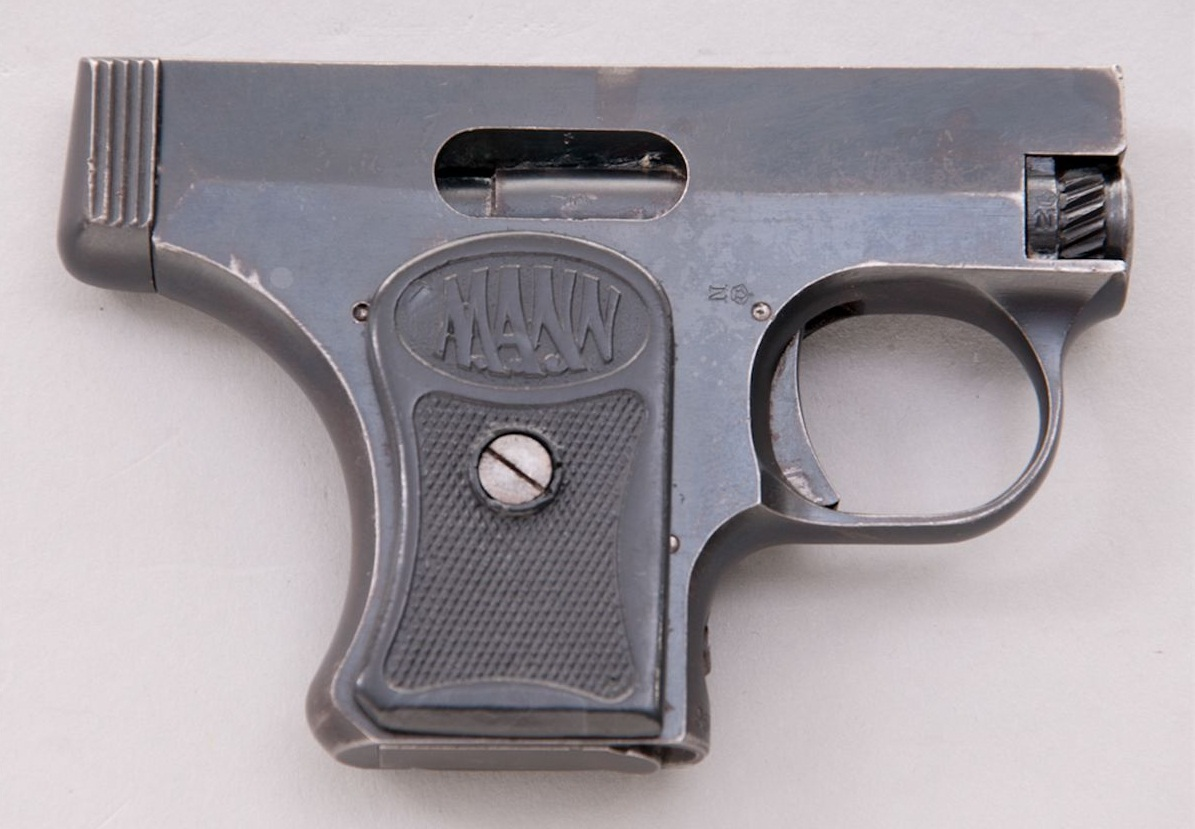 Пистолет Манн модель 1920/1921 года