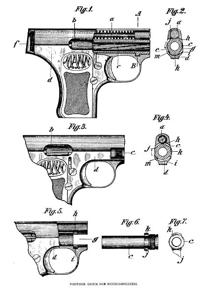 The Mann Pistol patent