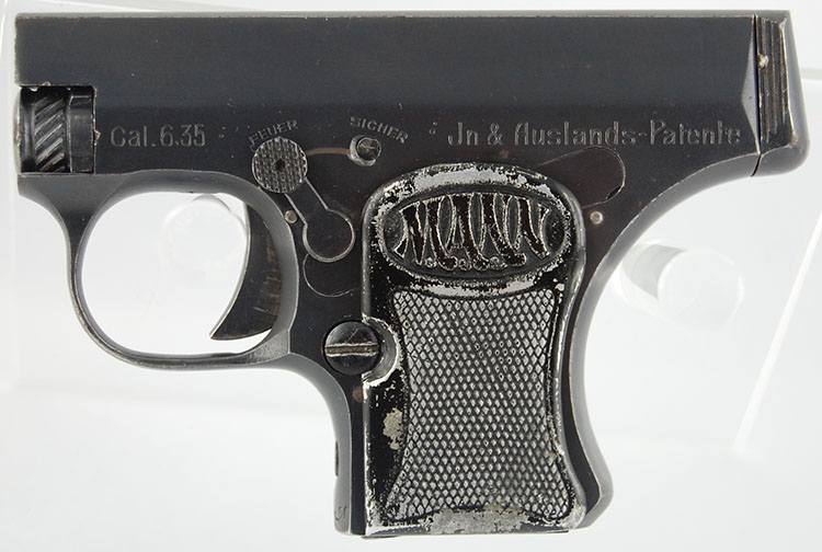 The Mann Pistol Model 1920, first variant