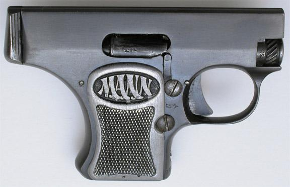 The Mann Pistol Model 1920 second variant