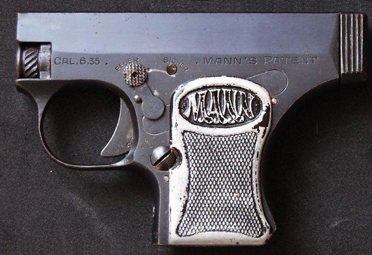 The Mann Pistol Model 1920, third variant