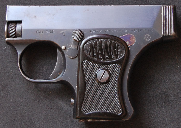 The Mann Pistol Model 1921, fourth variant