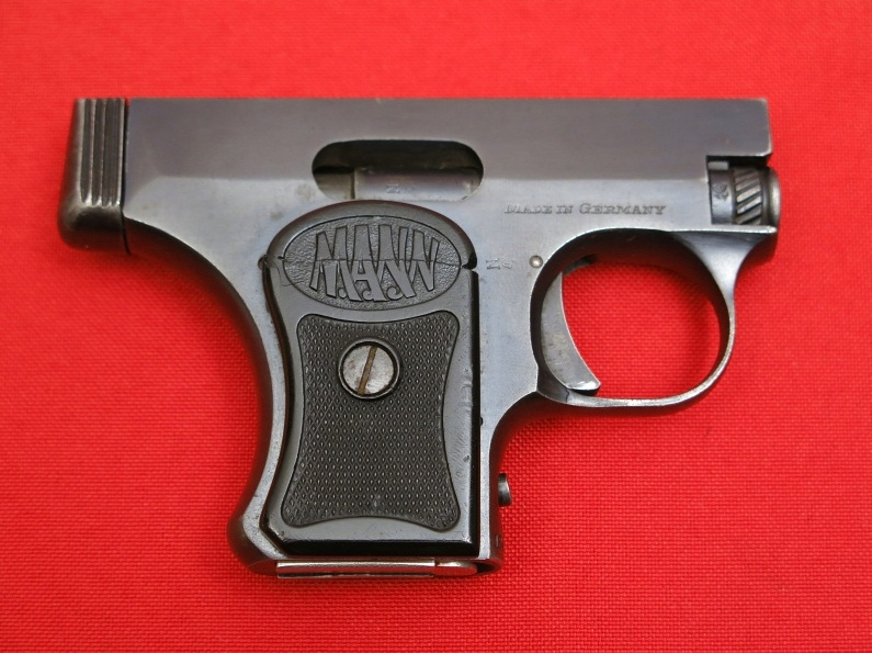 The Mann Pistol Model 1920/1921