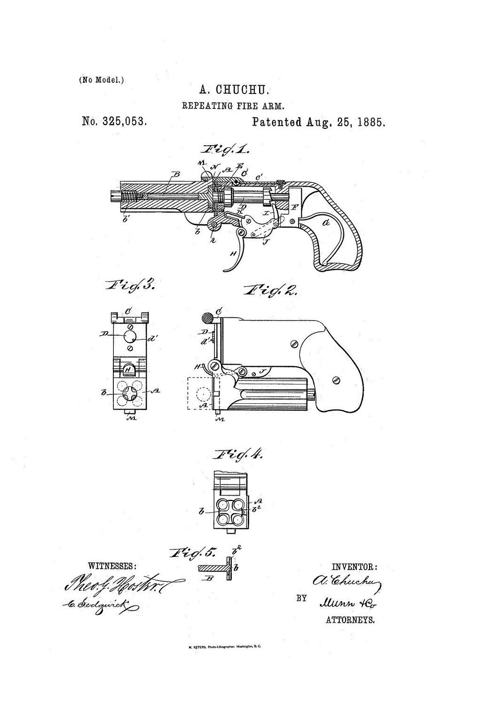 Derringer Chuchu - Patent