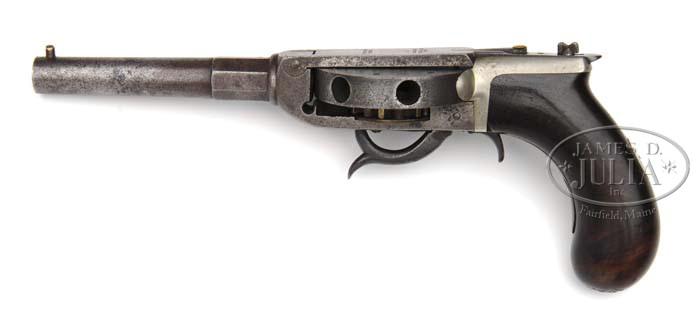 Cochran turret revolver underhammer