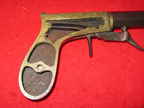 Underhammer Percussion Pistol