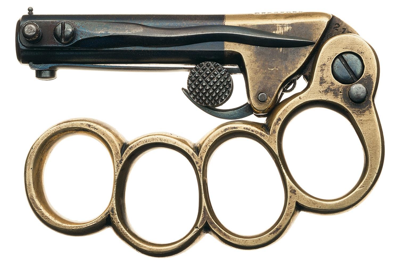 Кастет - пистолет - кинжал