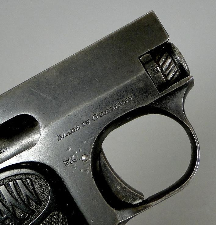 The Mann Pistol Model 1921