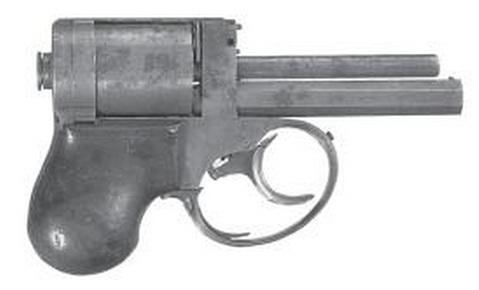 Капсюльный револьвер underhammer Jacob Shaw