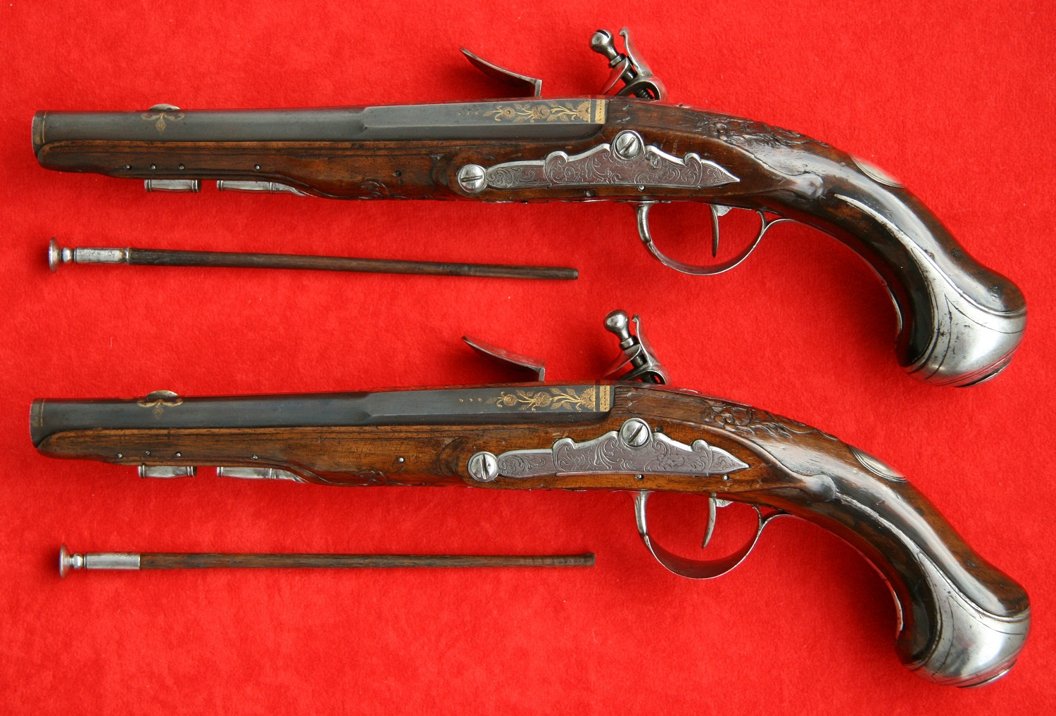Flintlock pistol made by master Tezenas