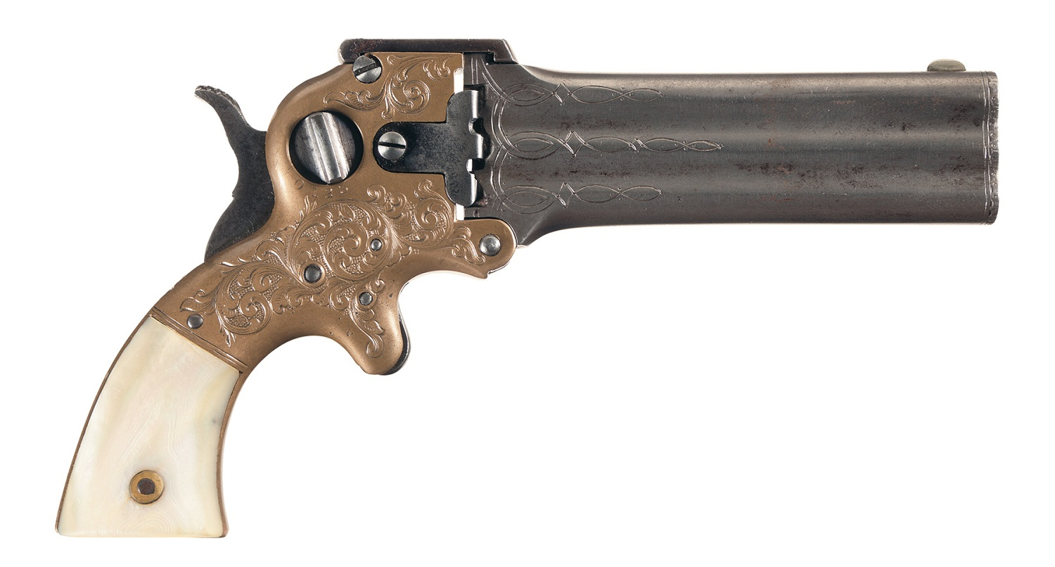 William W. Marston Three Barrel Derringer