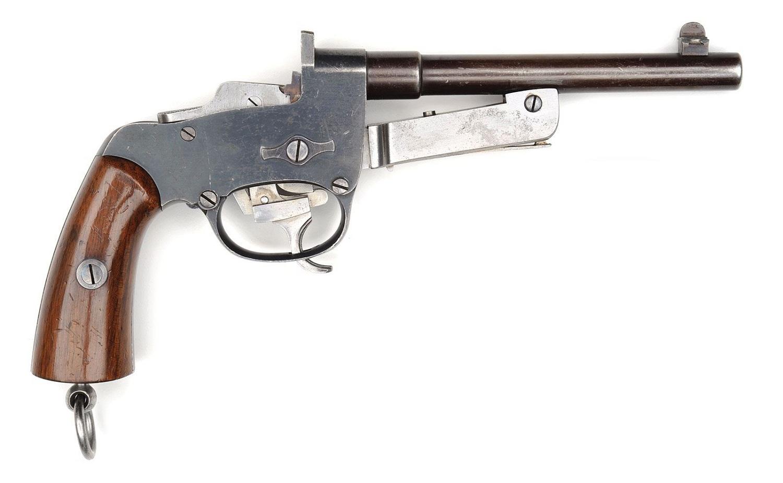 Однозарядный пистолет Маузер К-77