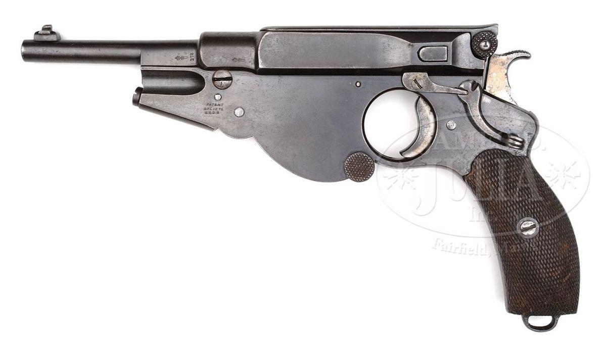 Пистолет Бергманн №3