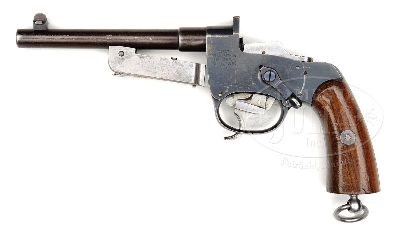 Mauser 9mm C. 1877 Pistole