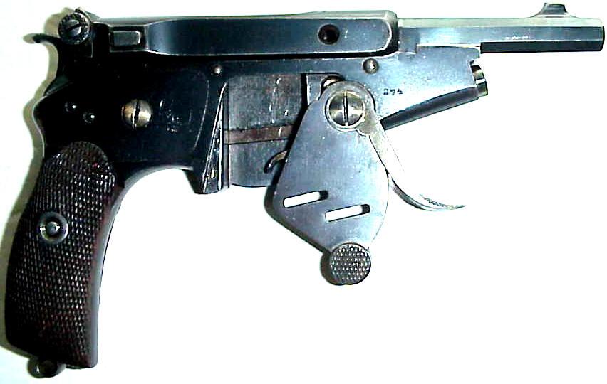 Пистолет Бергманн №2