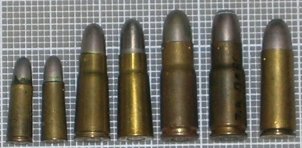 Bergmann cartridges