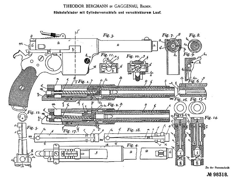 Bergmann M1897 №5 Patent
