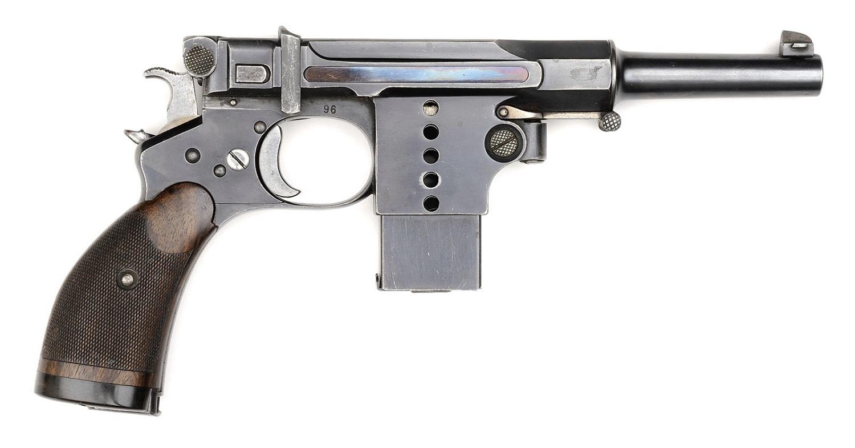 Пистолет Бергманн №5