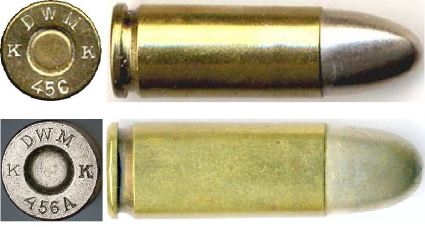 9x23mm cartridge Largo