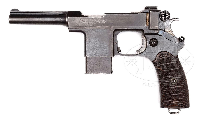 Пистолет Бергманн Марс
