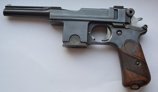 Пистолет Бергман Баярд