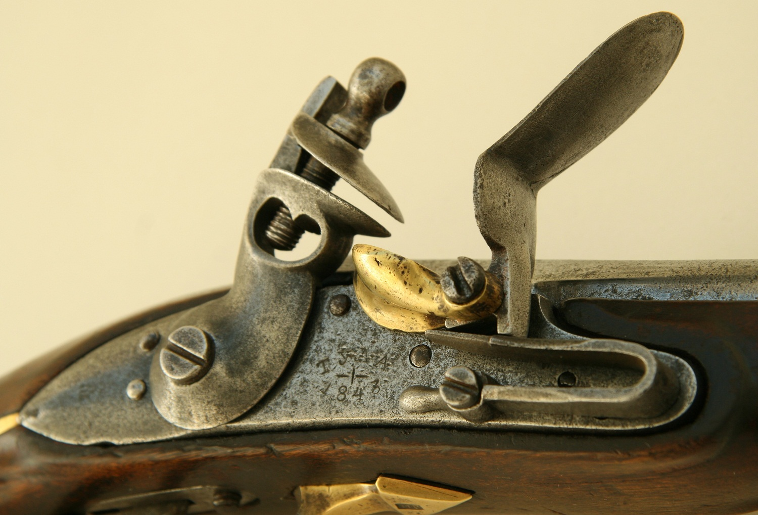The Pattern 1839 Russian cavalry flint pistol