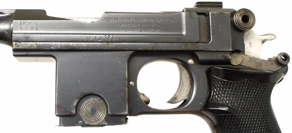 Пистолет Бергман Баярд М 1910/1921