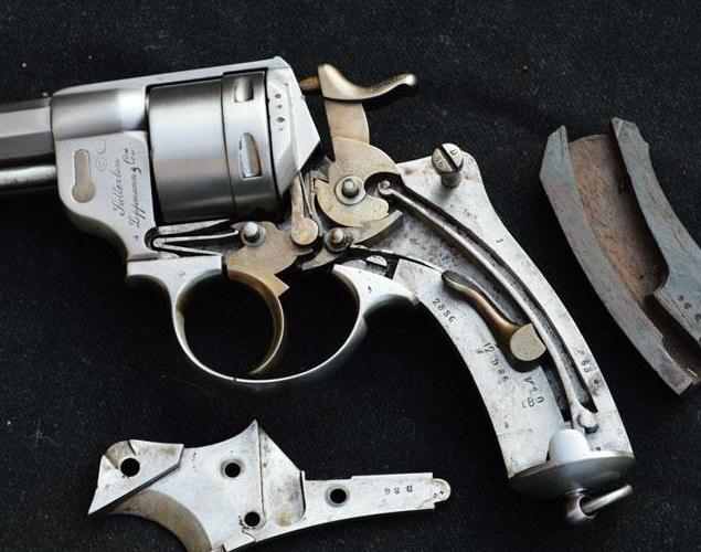 Револьвер Chamelot - Delvigne образца 1873 года