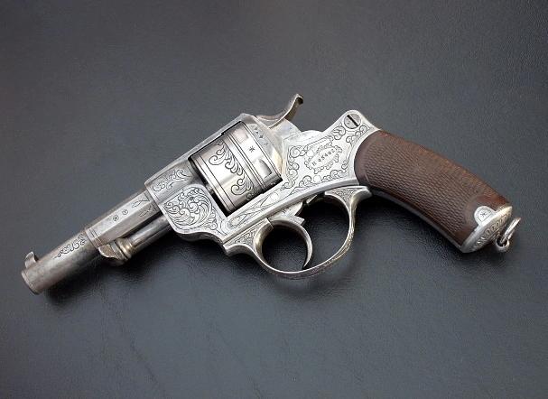 Французский револьвер Chamelot - Delvigne образца 1873 года