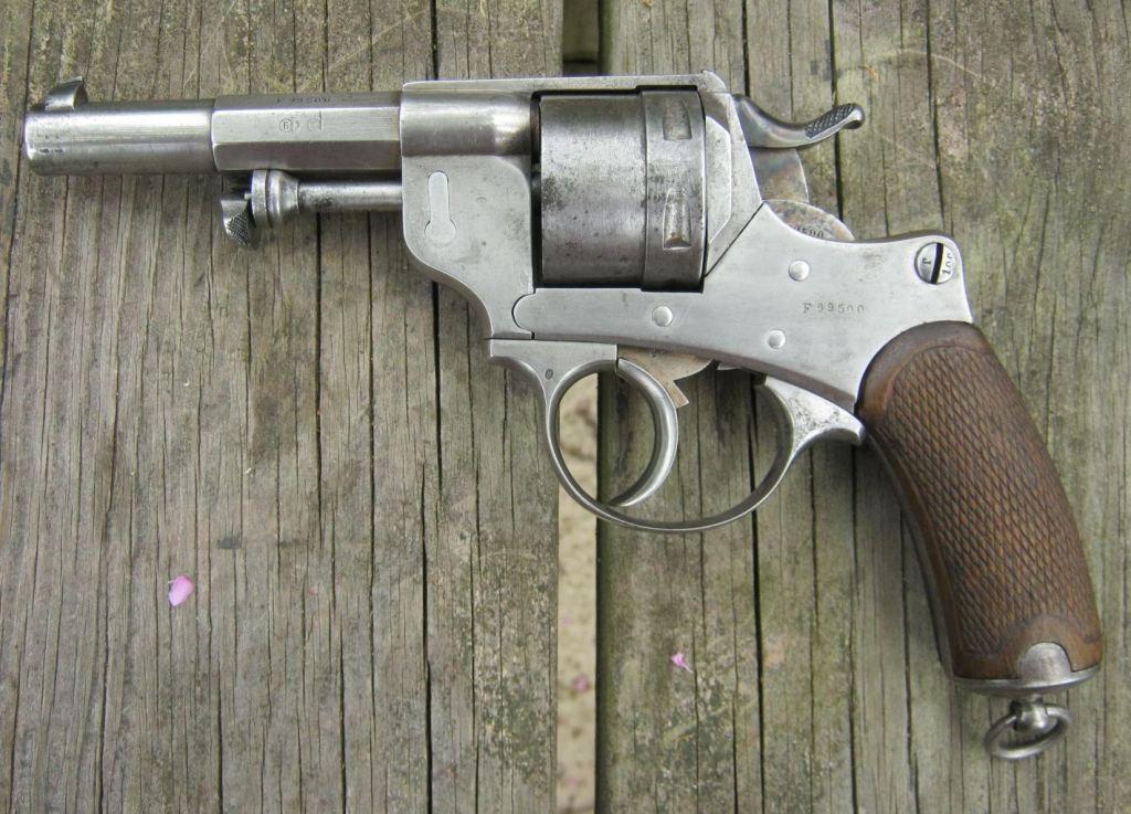 Chamelot - Delvigne revolver Model 1873
