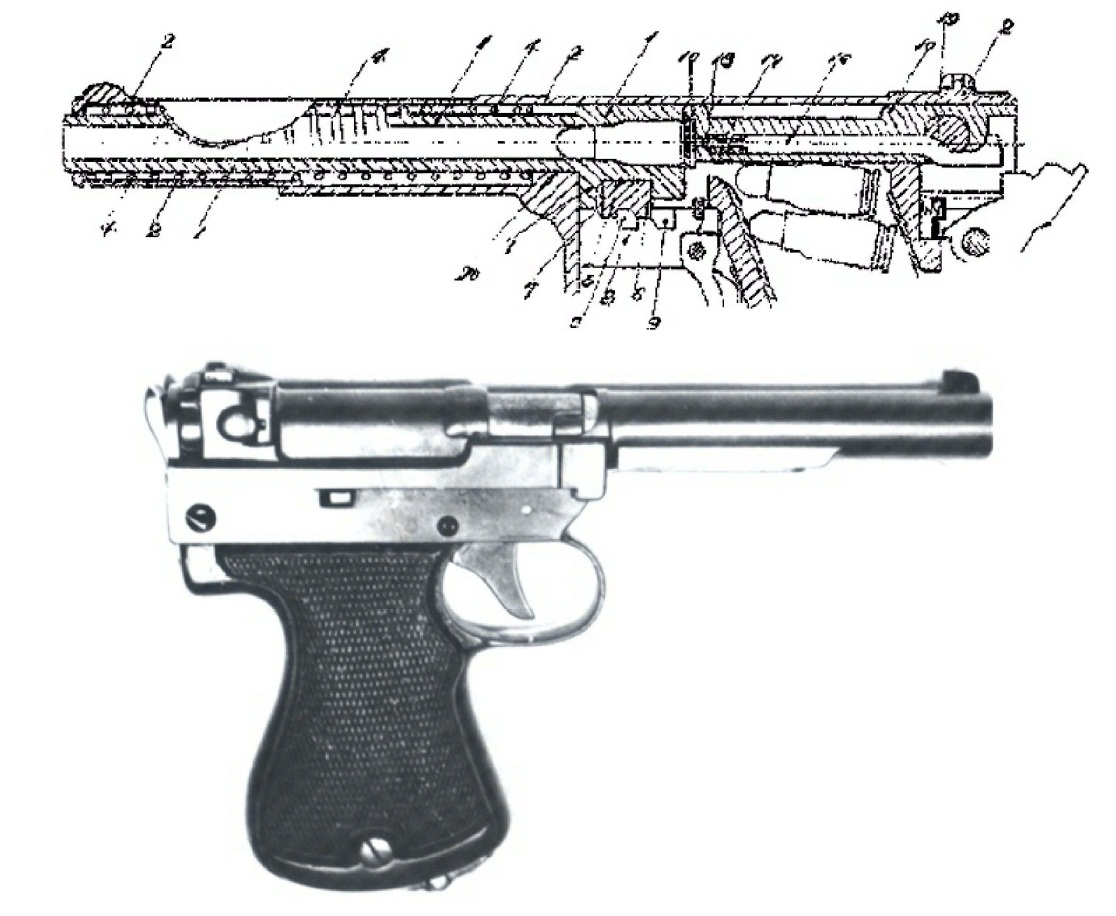 Japanese Nambu Type 94 Pistol prototype